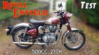 """""""Test"""" Cette moto a failli me tuer """"Royal Enfield Classic 500 chrome de 2013"""""""