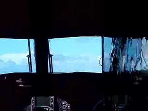 landing on Shemya, Feb 2007