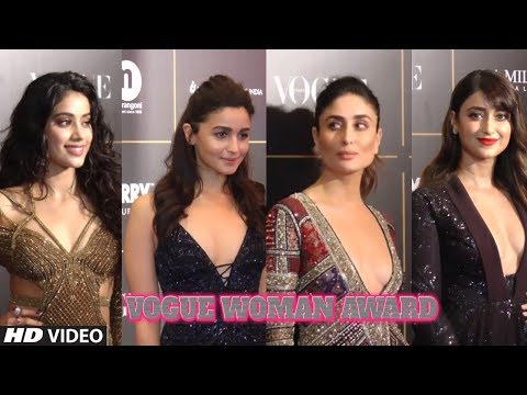 Vogue Woman Award 2018 Full Video | Red Carpet Ceremony of This Award