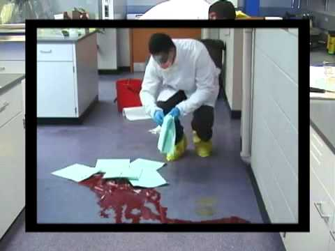 How To Clean Up A Blood Spill Youtube