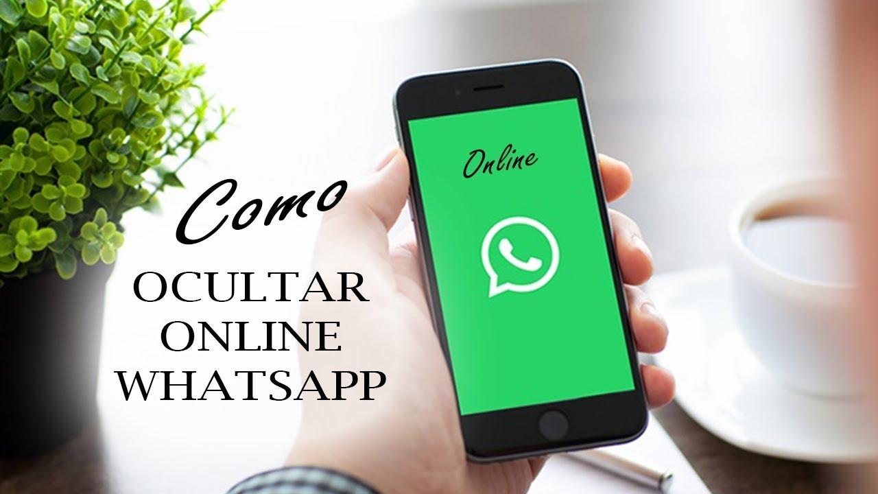 como desativar o online do whatsapp no iphone