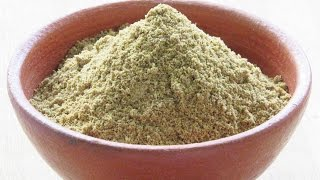 How To Make Coriander Powder At Home - Homemade Coriander Powder - Cooking Basics | Nisa Homey