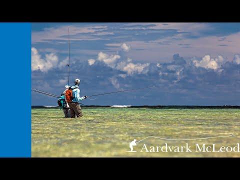 Fly fishing Farquhar Atoll, Seychelles