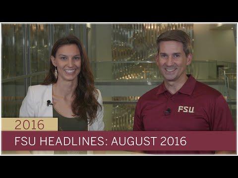 FSU Headlines: August 2016
