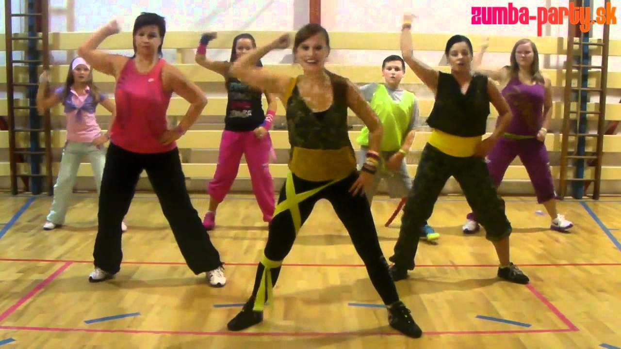 don omar  u0026 lucenzo - danza kuduro - zumba choreography by lucia meresova  hd