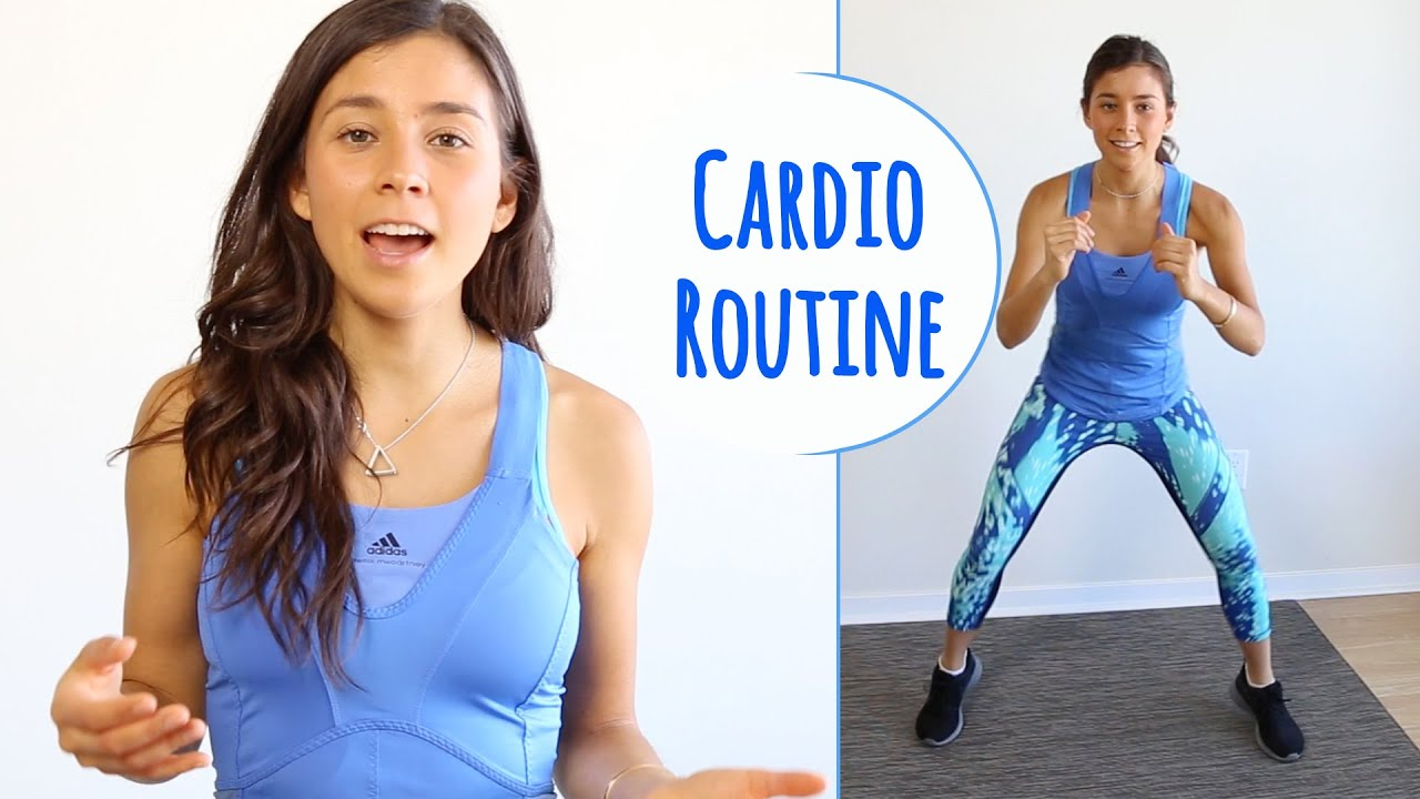 BEGINNERS CARDIO WORKOUT ROUTINE! 8 Min No Equipment Needed