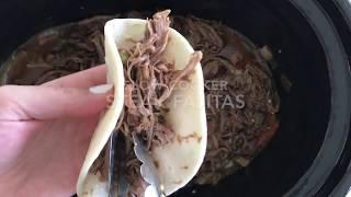 Slow Cooker Steak Fajitas Recipe | Six Sisters Stuff