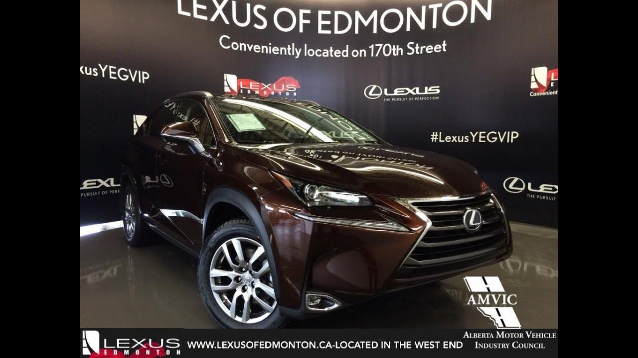 2016 Brown on Flaxen Lexus NX 200t AWD Premium Package In Depth Review   West Edmonton Alberta ...
