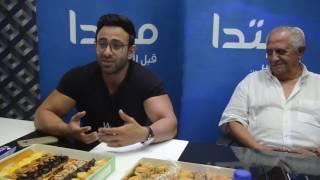 شاهد  فايق فى «مبتدا»: المستكاوى قدوتى وهو رقم واحد فى الصحافة المصرية