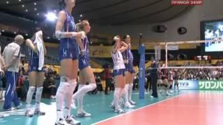2010 Women's Volleyball World Championship Japan vs Russia Set4