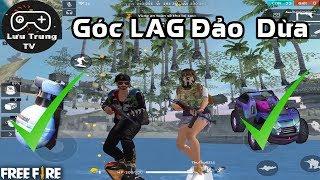 [Garena Free Fire] Góc LAG Chui Xuống Dưới Lòng Đất Đảo Dừa   Lưu Trung TV