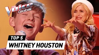 The best WHITNEY HOUSTON Blind Auditions in The Voice Kids