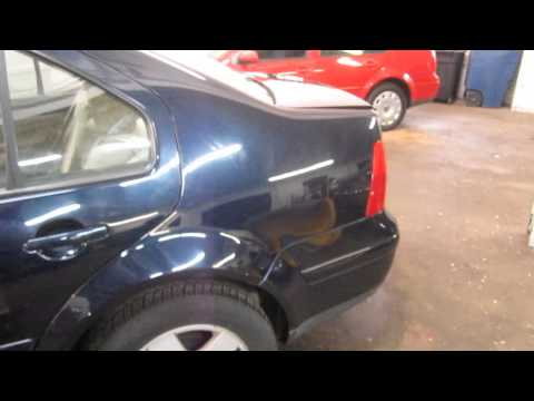 Parting out a 2000 VW Jetta - Used Auto Parts - 130312
