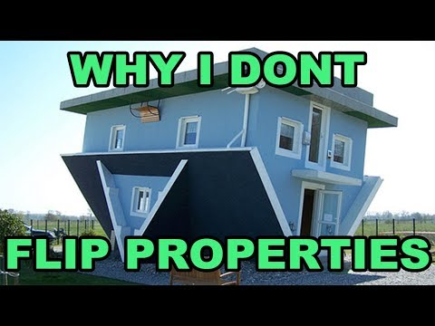 Why I DON'T flip houses  (revealing my favorite real estate investing approach)
