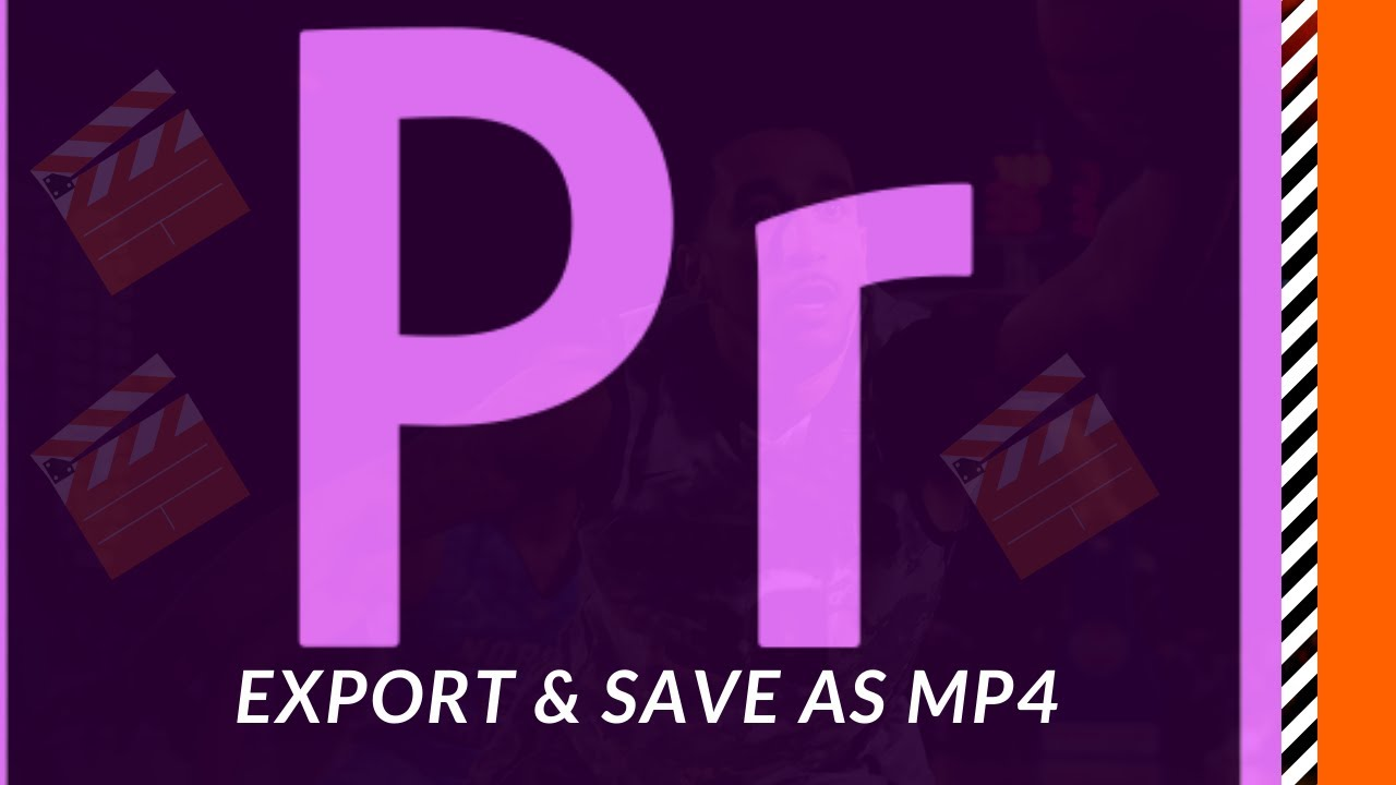 Export & Save as mp4 format in Adobe Premiere Pro CC ( HD )