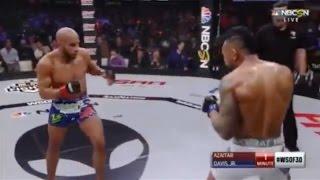 Abu Azaitar vs Danny Davis Jr - Full Fight  WSOF 30 &