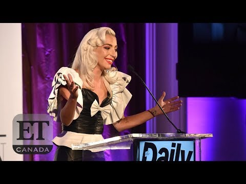 Lady Gaga Honours Hairstylist At The LA Fashion Awards   SPEECH