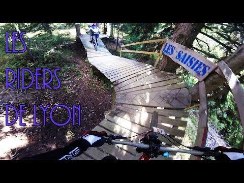 VTT DH : BIKE PARK LES SAISIES // w/ Les Riders De Lyon !