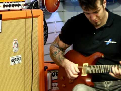 Orange Dual Terror Demo Warm Up - Cookes Guitar Store Norwich