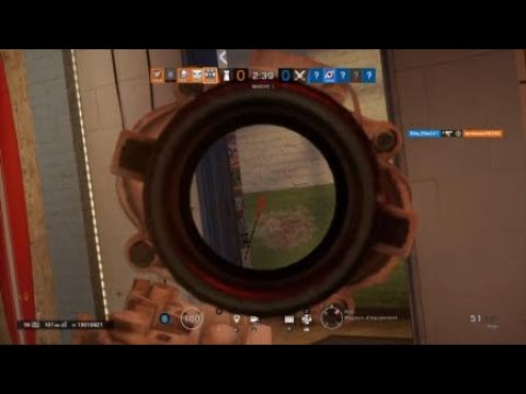 The french kiss against American people on Tom Clancys Rainbow Six®Siege