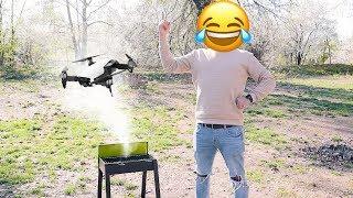 Cum faci grătar cu drona?
