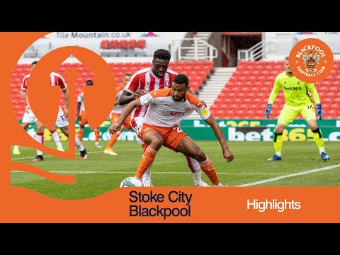 Stoke Blackpool Goals And Highlights