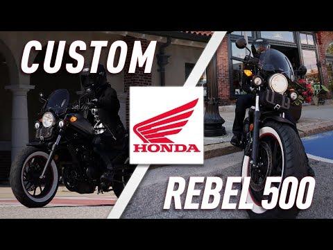 Outfitting the 2017 Honda Rebel 500 | TwistedThrottle.com