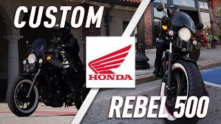 Outfitting the 2017 Honda Rebel 500 | TwistedThrottle.com