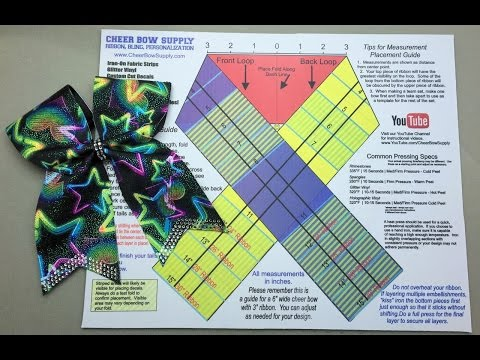 The Easy Way To Make A Cheer Bow