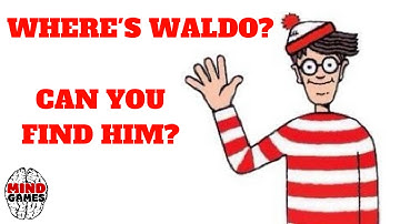 ** WHERE'S WALDO AMAZING CHALLENGE / CAN YOU FIND WALDO IN THESE PICTURES? **🙄