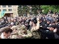 9 мая 2017 года, Днепропетровск: драка у памятника, есть пострадавшие.