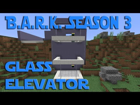 Modded Minecraft BARK S3 ep 4 - Launch Bay Elevator. Operations Build