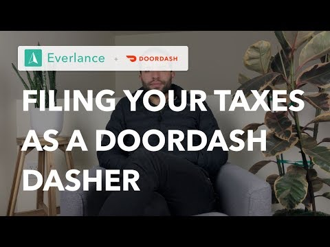 How To File Taxes As A 1099 Independent Contractor? | Tax Tips For Doordash Dashers