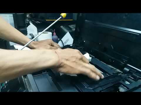 How to clean repair Brother printer head DCP-T300/DCP-T500/DCP-T700/DCP-T800 all brother printers