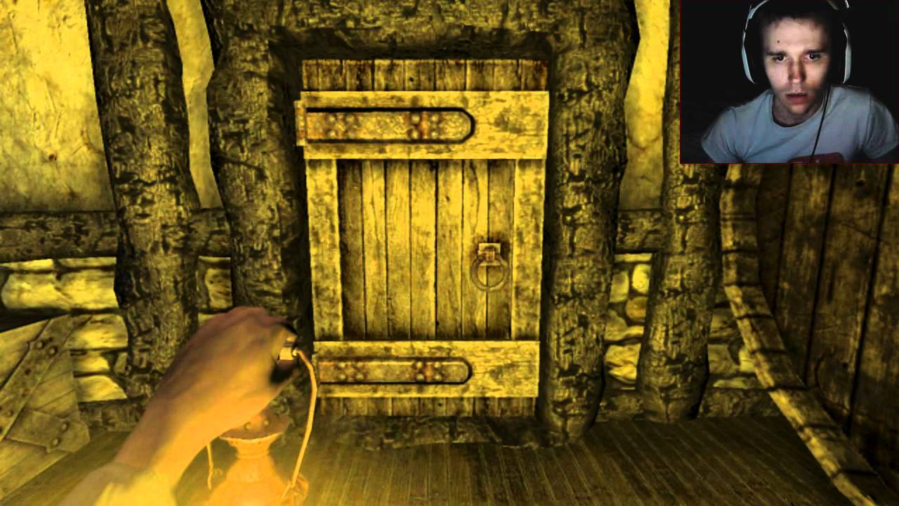 Scary Games Amnesia Custom Story The Attic Chapter 1 W
