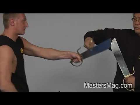 Sifu Gary Lam Wing Chun Weapons Demo