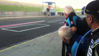 Honda TT Legends: Oschersleben 8-hour pit stops