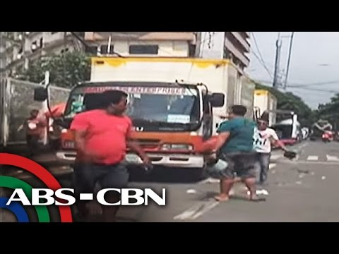 TV Patrol: Away sa kalsada ng truck driver at pedestrian