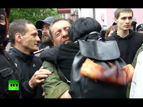 Odessa fire survivors released, Ukraine nationalists vent rage