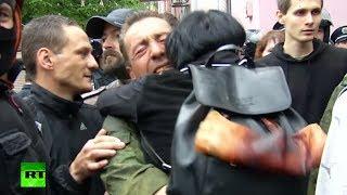 Odessa fire survivors released, Ukraine nationalists vent rage