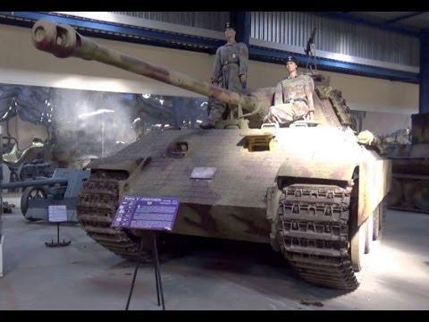 German tanks WWII, The Tank Museum, Saumur, Maine-et-Loire, France, Europe