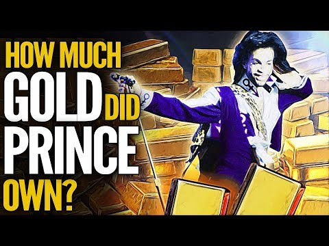 How Much Gold Bullion Did Prince Own?