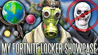 My Locker Showcase! Every Skin I Have In Fortnite includes Rare Skins PS4