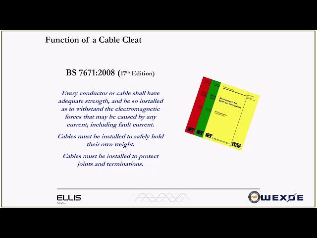 Webinar 210818 – Ellis Sikker kabelbefæstigelse med fokus på banebranchen
