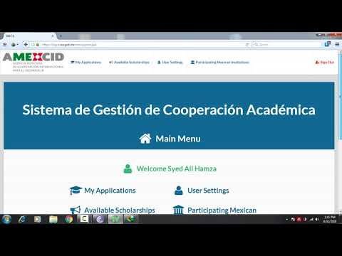 Fully Funded Mexican Government Scholarship 2019 For Bachelors, Masters and Phd Students