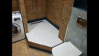 Цікаві Дизайнерські Рішення при ремонті ванних кімнат Поєднаної з Туалетом