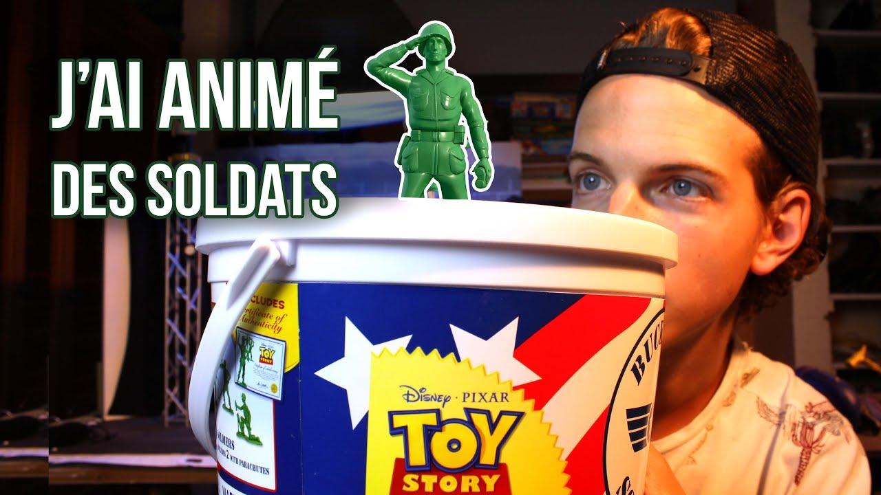 J Ai Animé Les Soldats De Toy Story Stop Motion Youtube