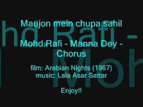 ARABIAN NIGHTS (1967)Maujon mein chupa sahilMohd - Manna Dey - Chorus
