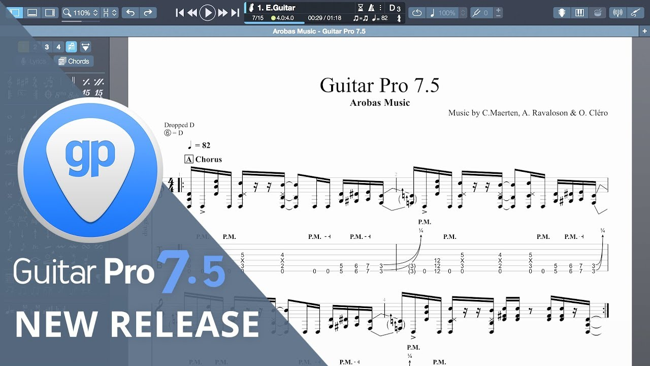Guitar Pro 7 5 | What's new