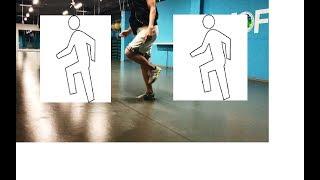 Урок №5 - Обучалка Шафл - Кач / Грув / Движения корпусом в Шаффле